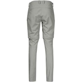 Bergans Utne Pantalon convertible avec fermeture éclair Femme, light green mud
